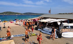 windsurfing porto pollo